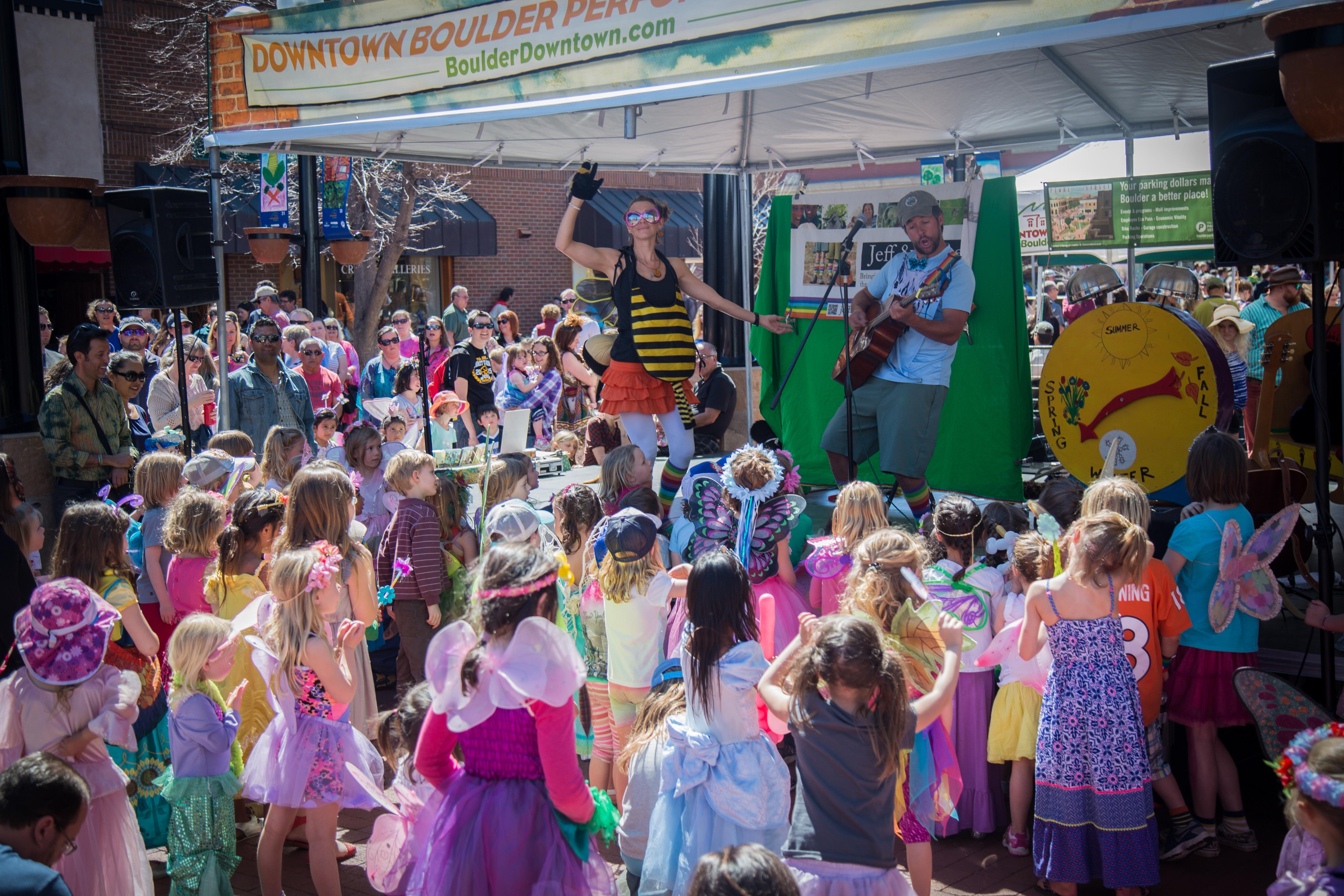 Tulip Fairy & Elf Festival Downtown Boulder