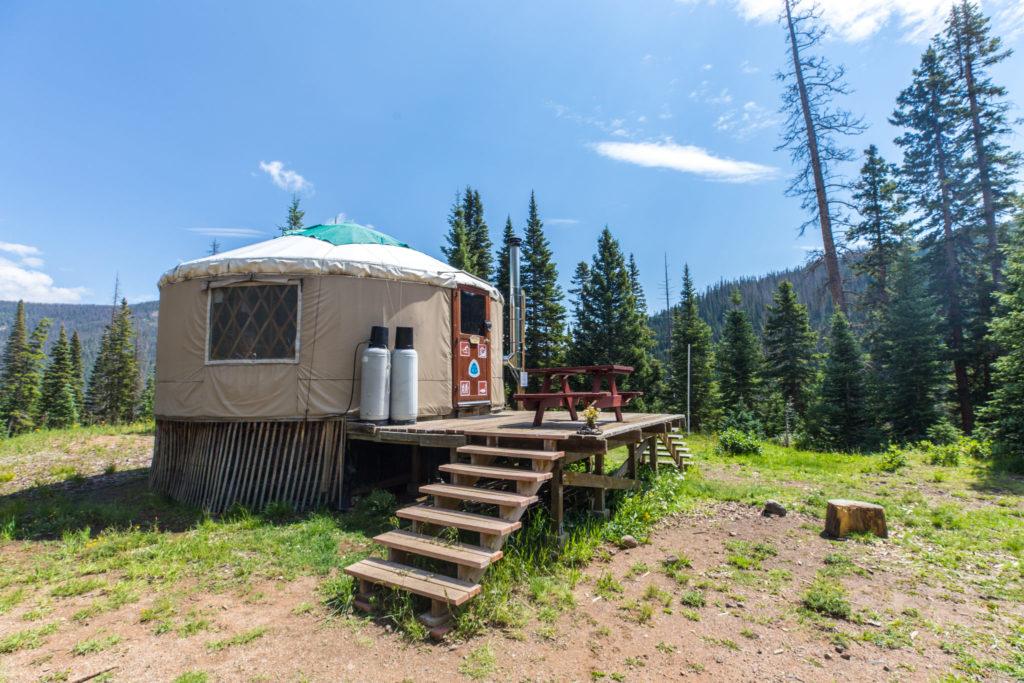 yurt birthday party
